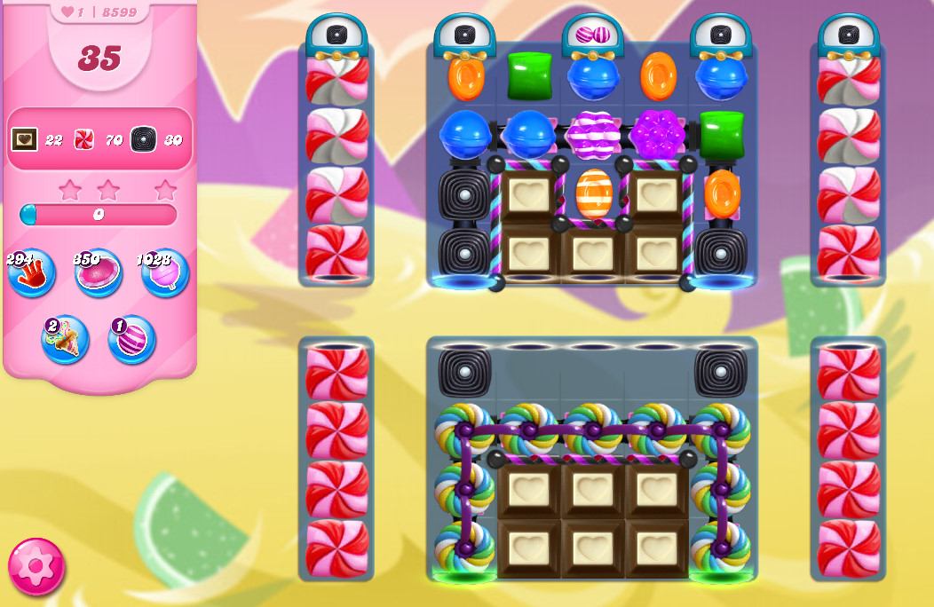 Candy Crush Saga level 8599