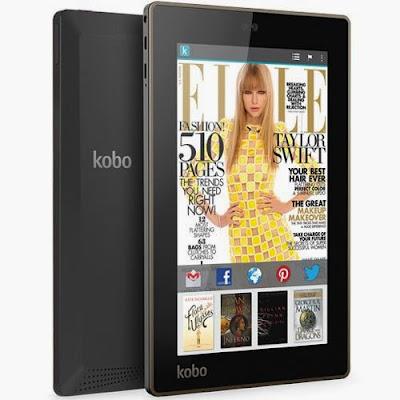 Tablet Kobo Arc Preto 64 GB - Kobo Devices