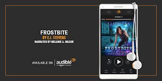 Frostbite Ivy Granger #IAA Audiobook Award Finalist