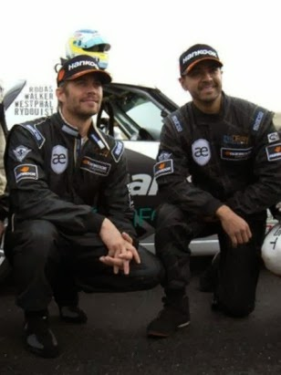 Paul Walker und Roger Rodas