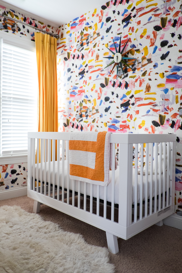 Baby Cheyenne and a Nursery Sneak Peek- designaddictmom