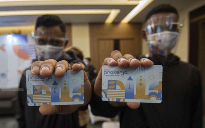 Jokowi Naikkan Anggaran Kartu Prakerja 100% Jadi Rp 20 Triliun