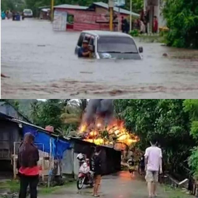 Di Soppeng, Banjir di Marioriawa, Kebakaran di Marioriwawo