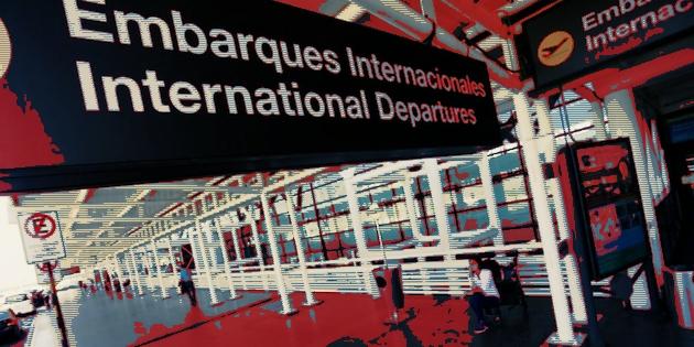Aeropuerto ingreso de variantes Covid