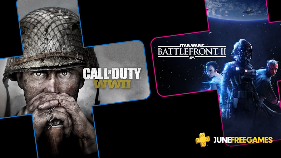 call of duty ww2 star wars battlefront 2 game ps4 plus sony interactive entertainment activision sledgehammer games raven software electronic arts ea dice