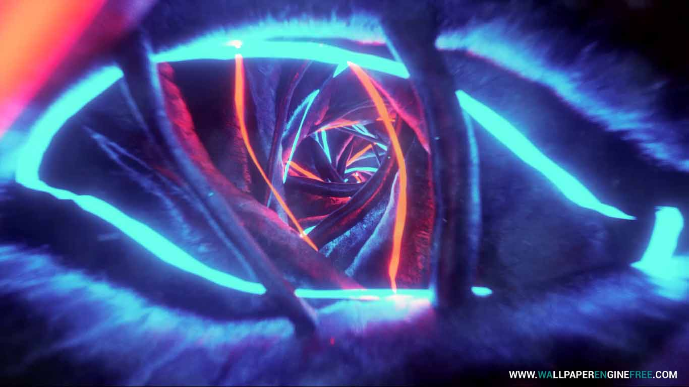 Warm Neon Loop Wallpaper Engine Free Download Wallpaper Engine Wallpapers Free