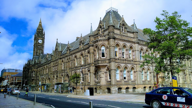 Middlesbrough Town Hall (Photo Brian Stubley)