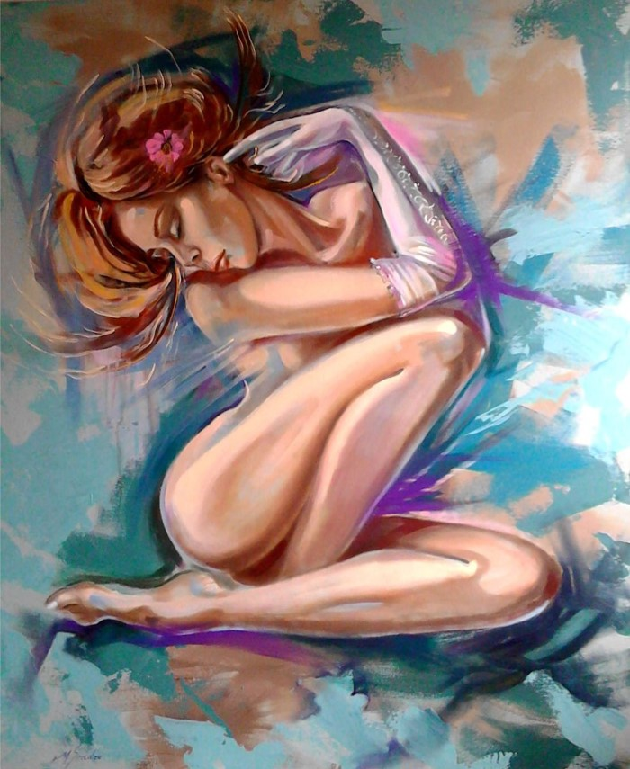 Грузинский художник. Maia Siradze