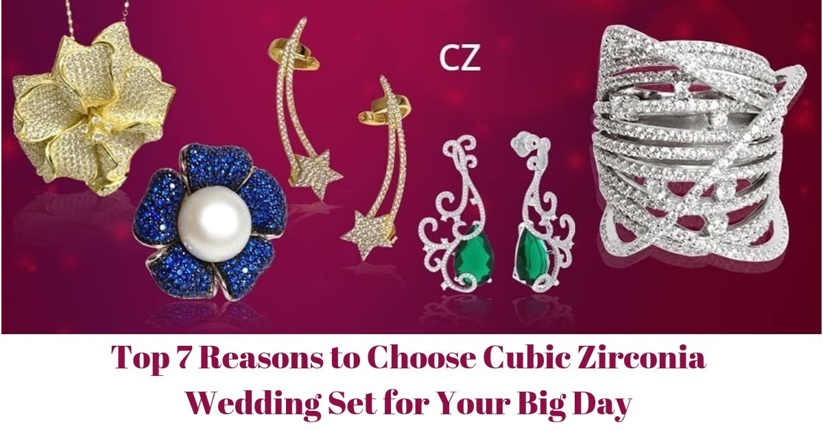Cubic Zirconia Wedding Set