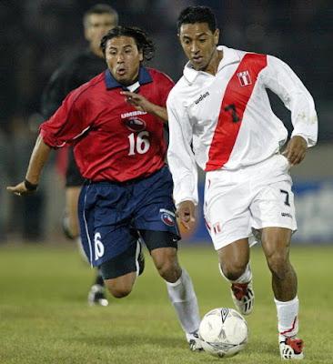 Chile y Perú en Clasificatorias a Alemania 2006, 9 de septiembre de 2003