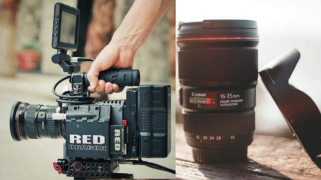 jenis - jenis lensa untuk kamera canon