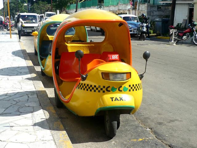 mezzo trasporto cuba taxi