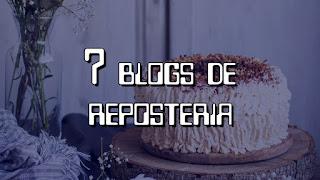 Mejores blogs de reposteria