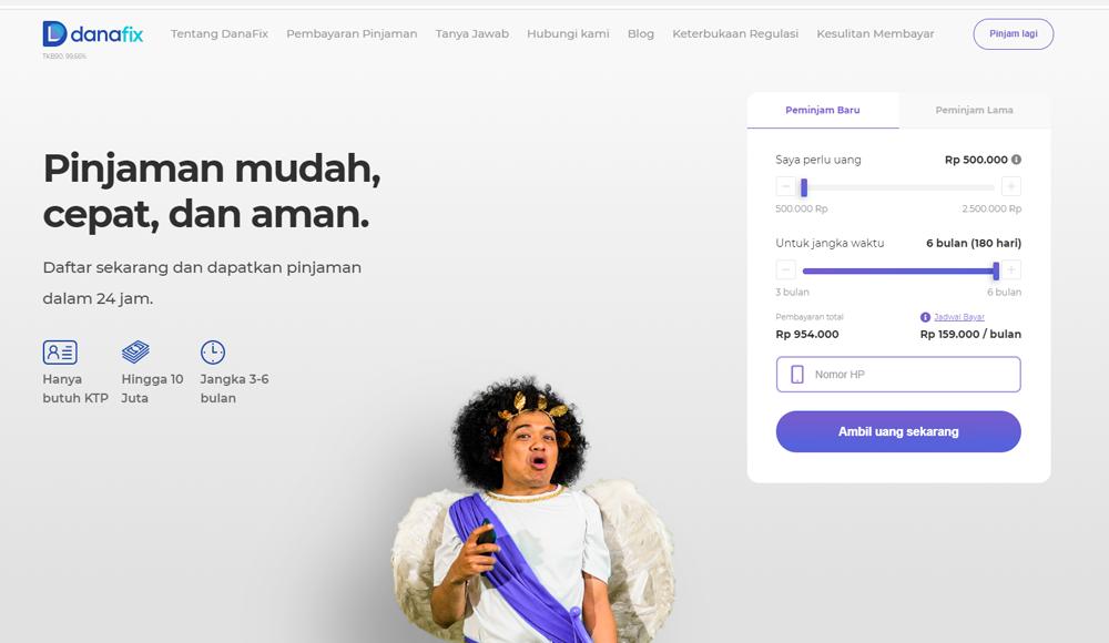 DanaFix-Pinjaman Online Cicilan Kredit Cepat Uang