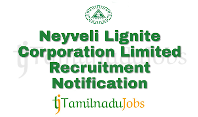 NLC Recruitment notification of 2018