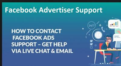 Facebook Advertiser Support Chat - Facebook Contact Support | Facebook Ads help - Contact Facebook Advertiser Support