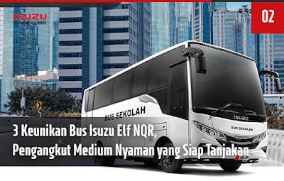 Isuzu Elf NQR Bus Sekolah