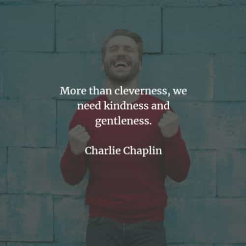 Famous quotes and sayings by Charlie Chaplin
