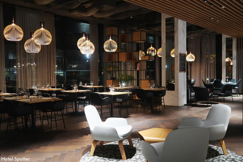 Courtyard by Marriott Brno - recenzja hotelu - restauracja