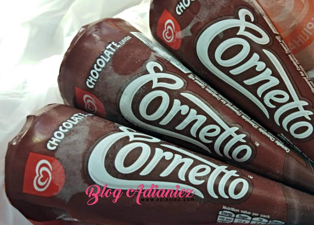 Walls Cornetto Chocolate | Menceriakan anak-anak...