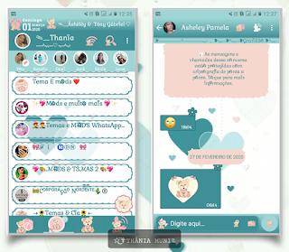 Love Theme For YOWhatsApp & Fouad WhatsApp By Thania