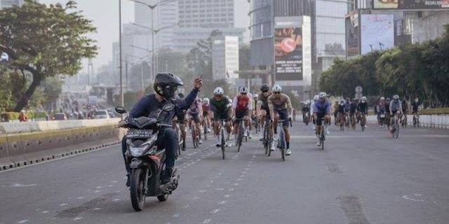 Polda Metro Minta Pesepeda Tidak Arogan Dan Hormati Pemakai Jalan Lain
