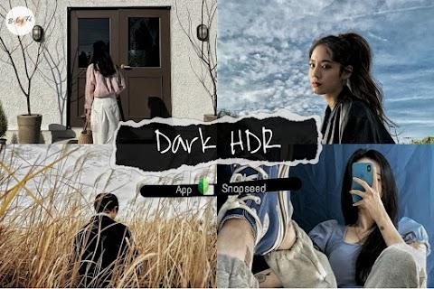 แต่งรูปโทนดาร์กแนว HDR ง่ายๆ แค่ 2 ขั้นตอนด้วย Snapseed