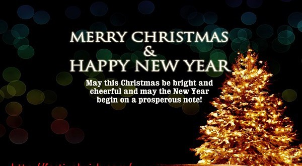 Merry Christmas and Happy New Year 2017 Messages