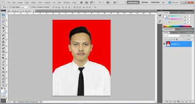 Masukan Foto ke dalam Adobe Photoshop
