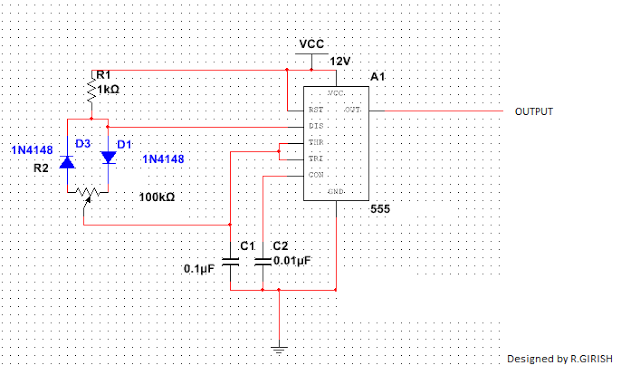 IC555 pwm with SG3525 inverter