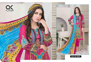Kesariya Alkaram pakistani Lawn Suits catalog wholesaler