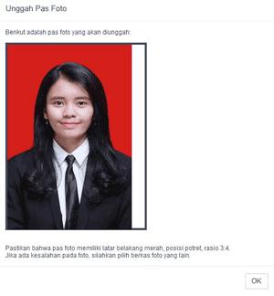 unggah pas foto pendaftaran cpns