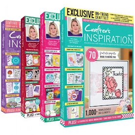 Chuffed to bits to have contributed to various Crafter's Inspiration Magazines