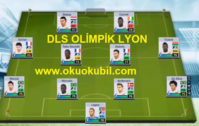 Dream League Soccer 20 Yeni Olimpik Lyon Takım Yaması İndir 2020