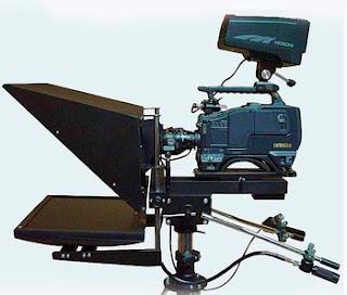 Teleprompter de cámara