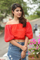 Rhea Chakraborty in Red Crop Top and Denim Shorts Spicy Pics ~  Exclusive 094.JPG
