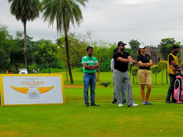 Madhavan, Rakul Preet Singh Playing Golf Photos