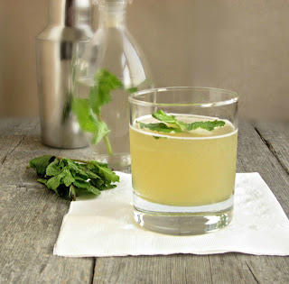Orange Mojito with Mint Skinny Syrup