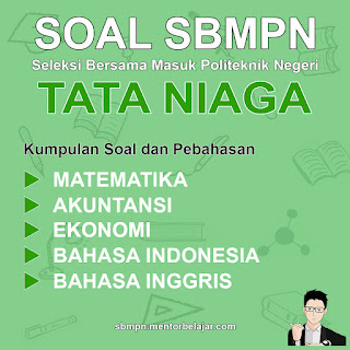 Download Soal SBMPN POLINEMA Politeknik Negeri Malang Tata Niaga dan Pembahasan nya
