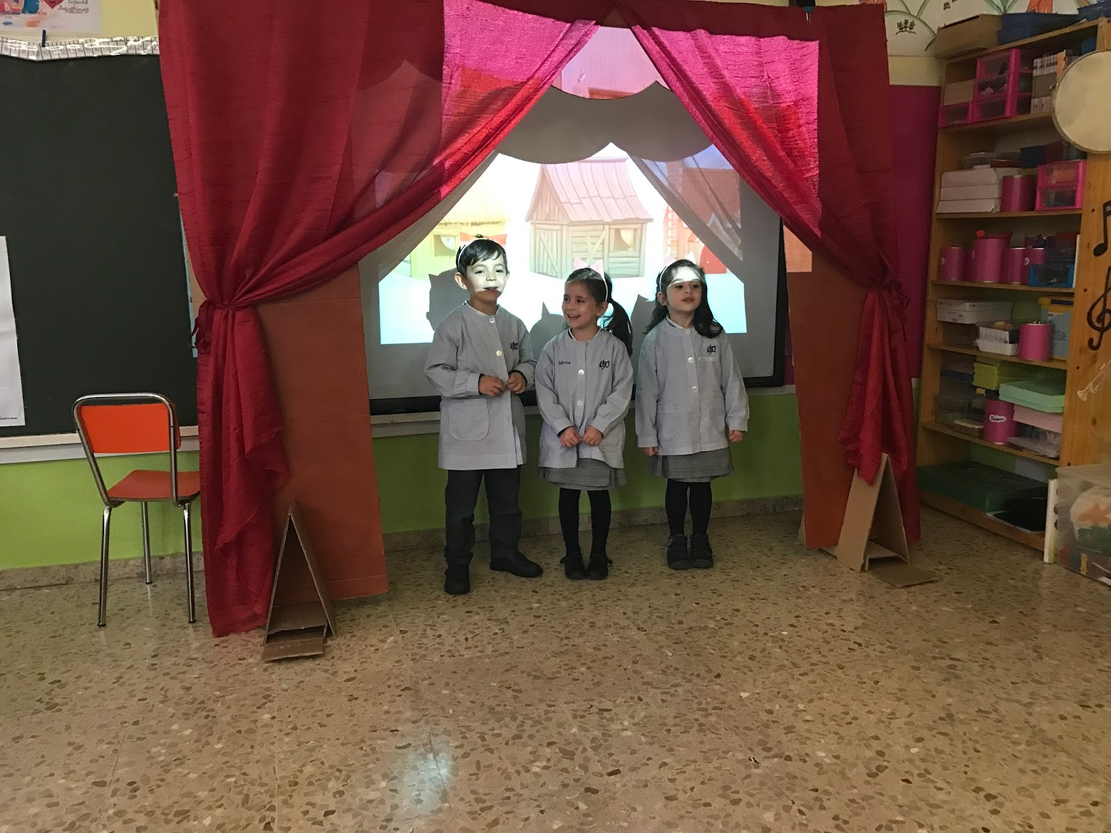 Agustinas Valladolid - 2017 - Infantil 4 - Teatro 1