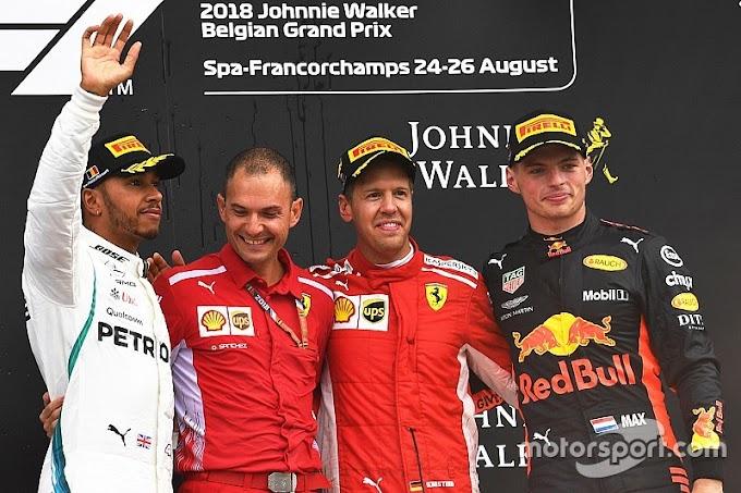 Vettel ganó en Spa y superó en victorias a Alain Prost