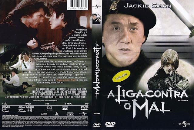 Capa DVD A Liga Contra o Mal