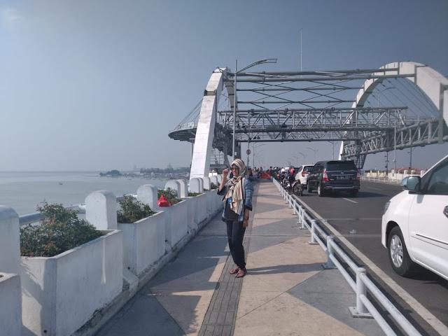 Jembatan Baru Pantai Genjeran Surabaya