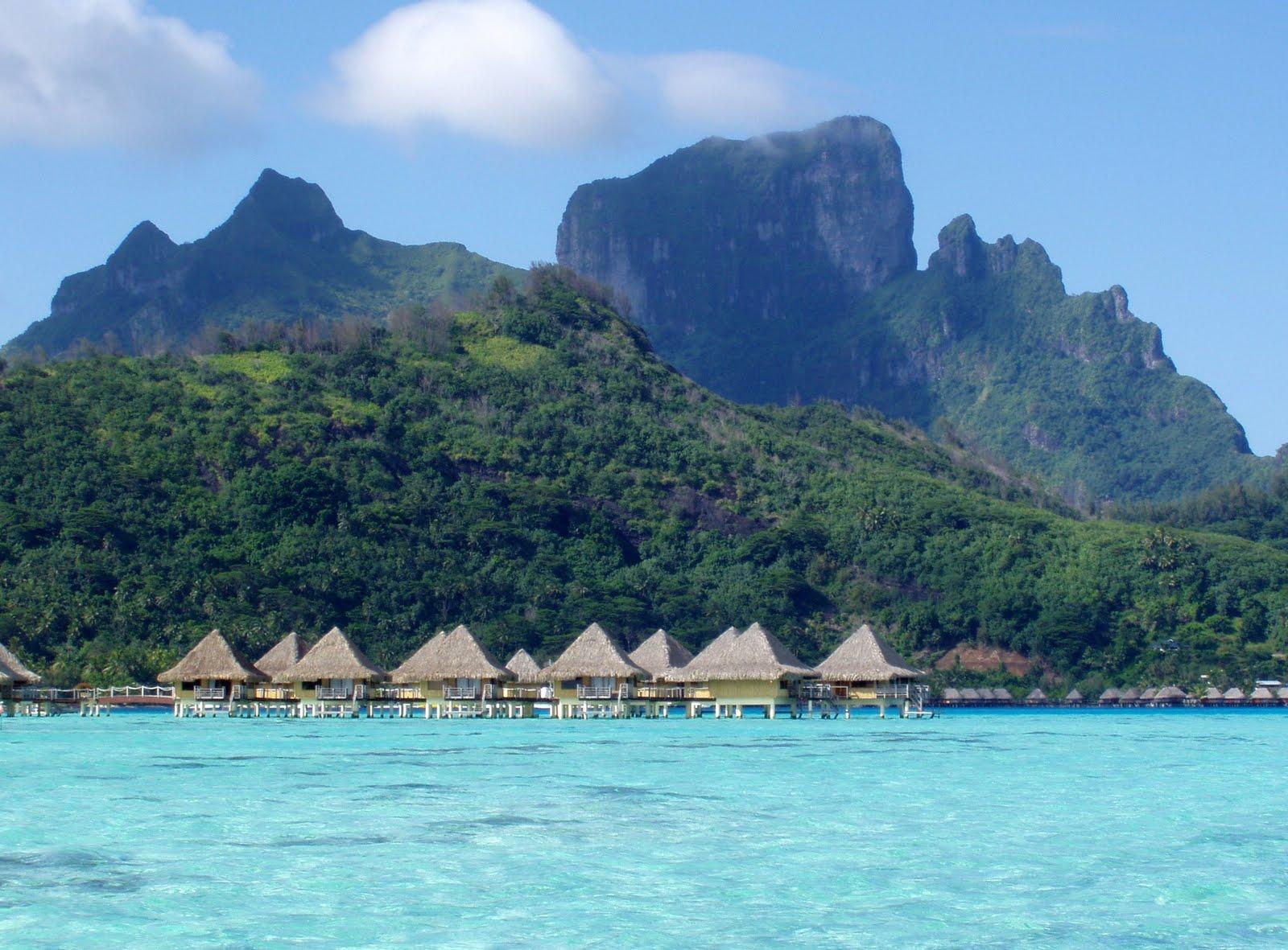Bora Bora Beach The Vacation Spot