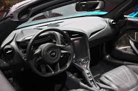 McLaren 720S interior