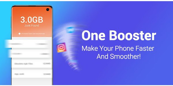 One Booster 1.5.7.0 (Mod, Pro Unlocked)