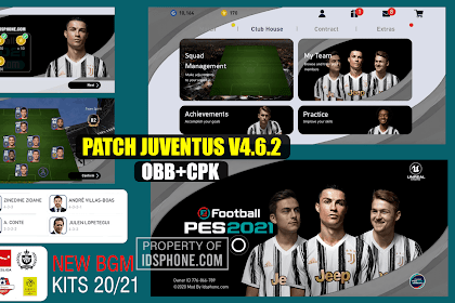 PATCH PES 2020 MOBILE JUVENTUS BY IDSPHONE V4.6.2