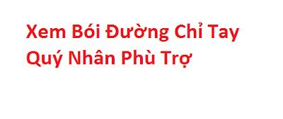 Xem Boi Chi Tay