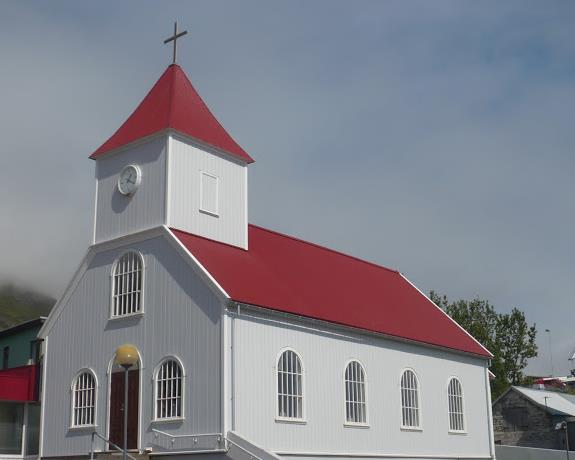 chiesa di Stöðvarfjörður