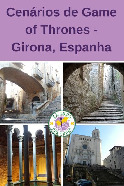 Visitando cenários de Game of Thrones - Girona, Espanha